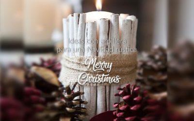 Ideas con arpillera para una Navidad rústica