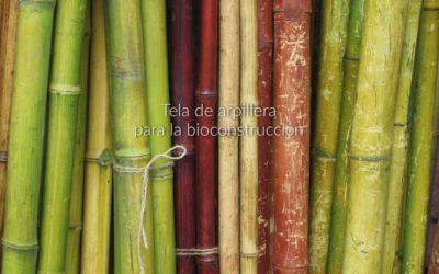 Tela de arpillera para la bioconstrucción